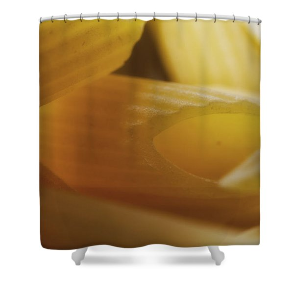 Pasta Macro Shower Curtain