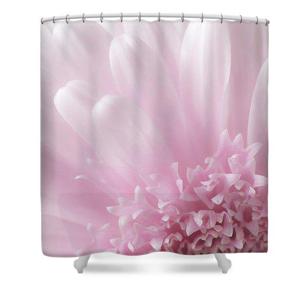 Pastel Daisy Shower Curtain
