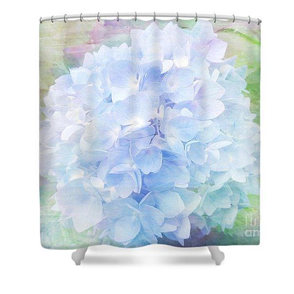 Pastel Hyacinth Shower Curtain