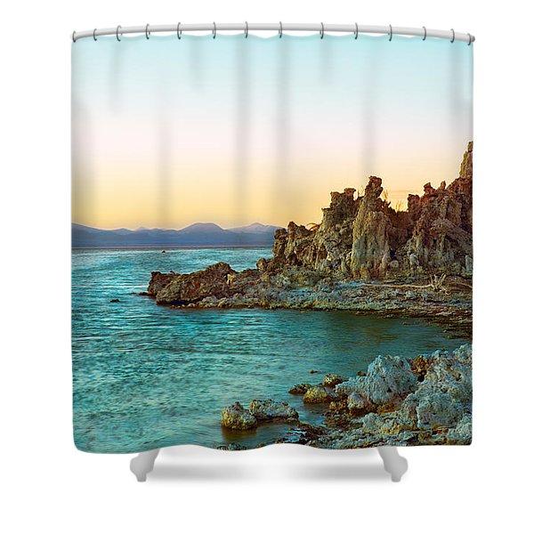 Pastel Tufas Shower Curtain