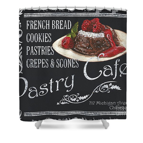Pastry Cafe Shower Curtain