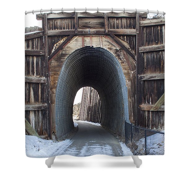 Path In History Shower Curtain