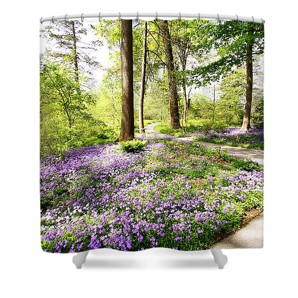 Path Of Serenity Shower Curtain
