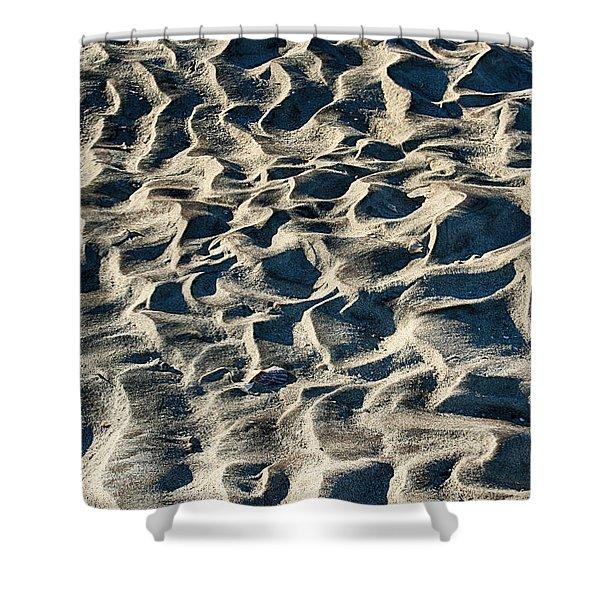 Patterns In Sand 1 Shower Curtain