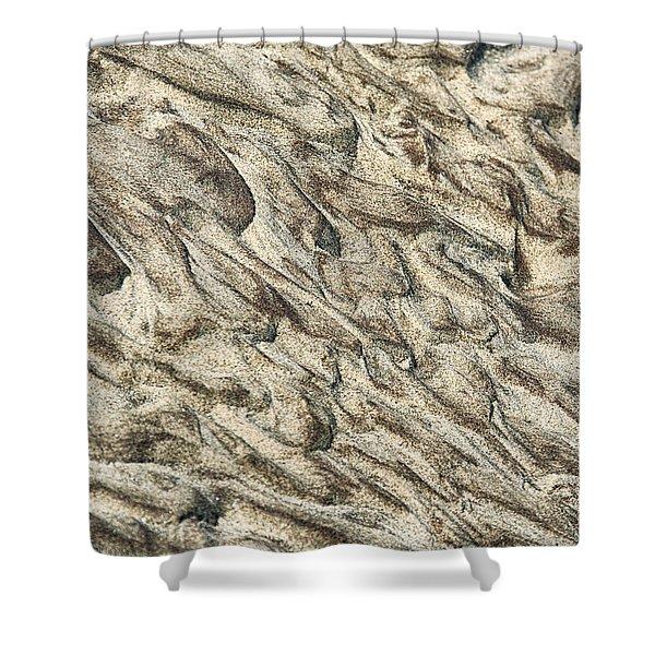 Patterns In Sand 2 Shower Curtain