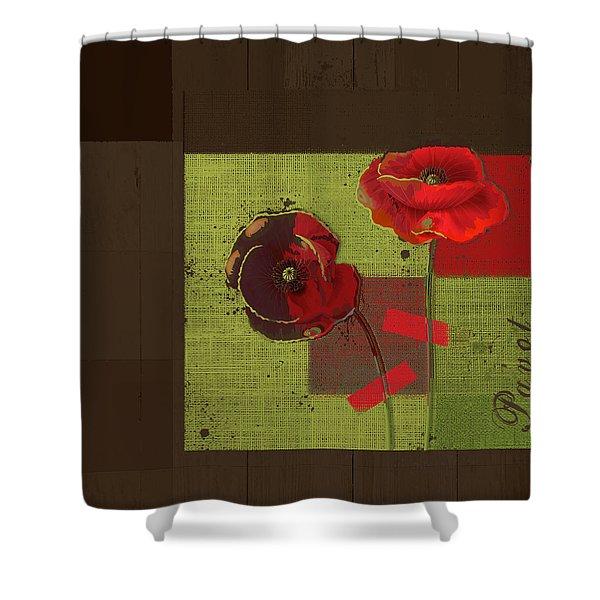 Pavot - 128128146bl01b Shower Curtain