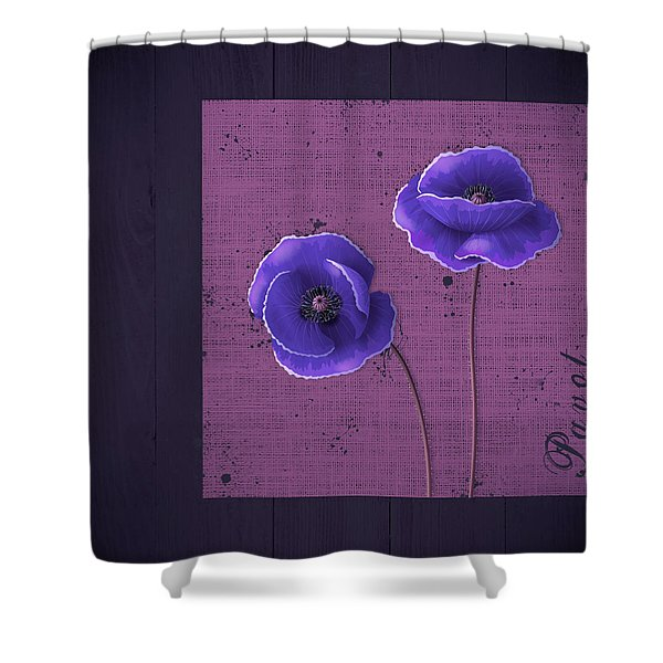 Pavot - S01c09a Shower Curtain