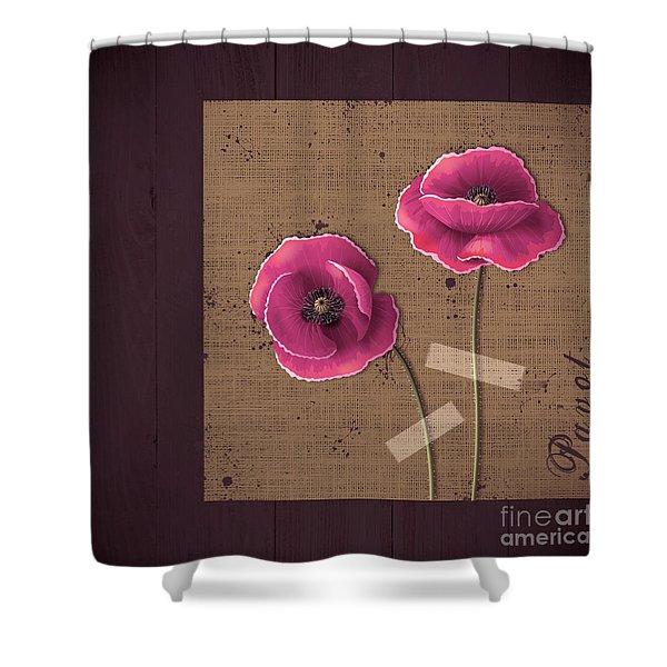 Pavot - S02c11b Shower Curtain