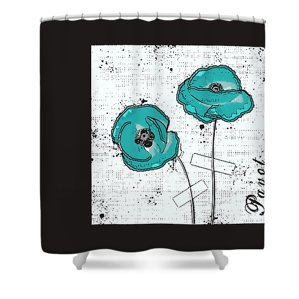 Pavot - S05-02a Shower Curtain