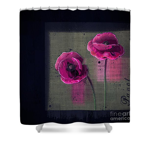Pavot - S1c12j033036161bl1 Shower Curtain