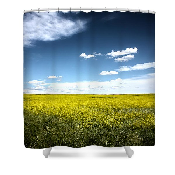 Pawnee Grasslands Shower Curtain