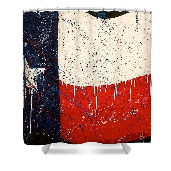 Peace Love And Texas Shower Curtain