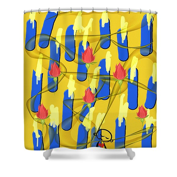 Peace Will Find A Way Shower Curtain