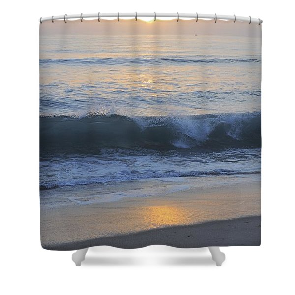 Peaceful Sunset Shower Curtain