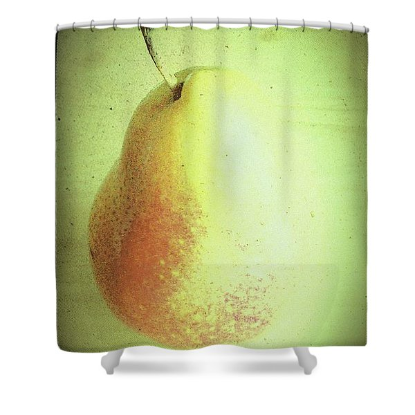 Summer Pear Shower Curtain