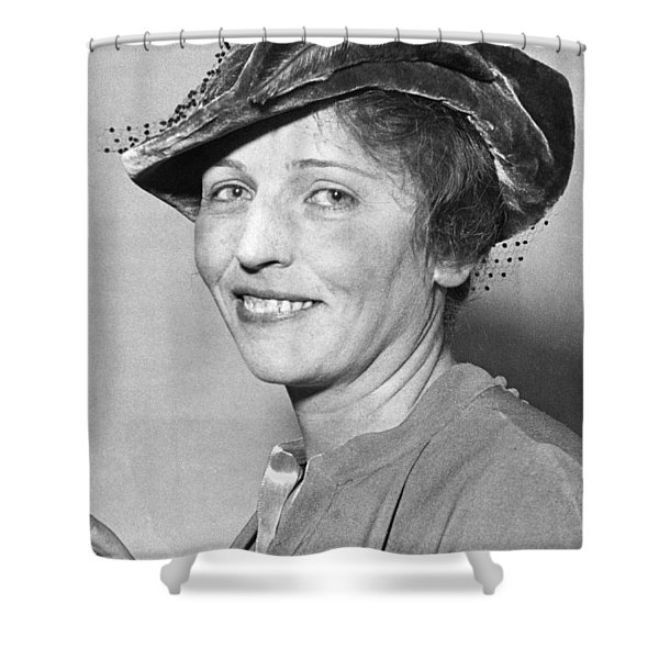 Pearl Buck Wins Nobel Prize Shower Curtain