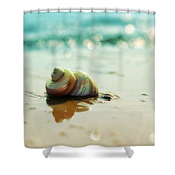 Pearly Shell Shower Curtain
