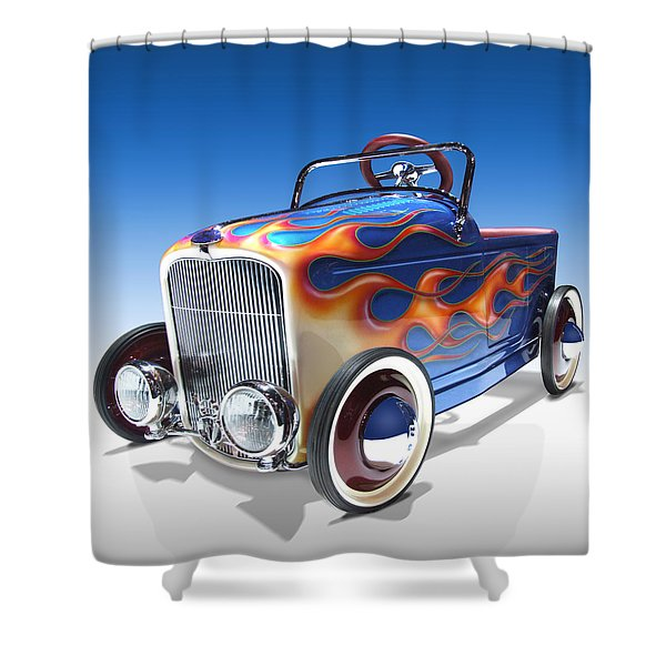 Peddle Car Shower Curtain