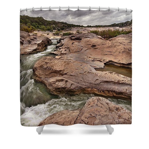 Pedernales Falls Shower Curtain