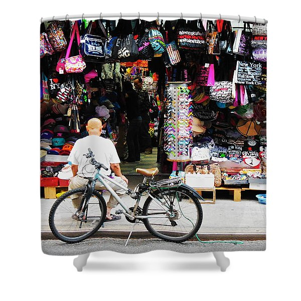 Pell St. Chinatown  Nyc Shower Curtain