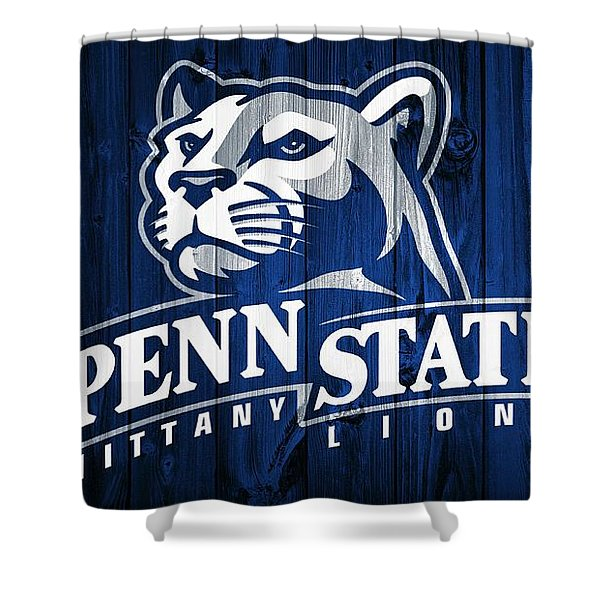 Penn State Barn Door Shower Curtain