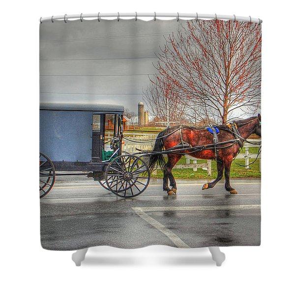 Pennsylvania Amish Shower Curtain