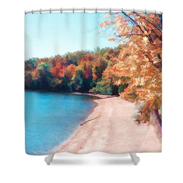 Pennsylvania Autumn 001 Shower Curtain