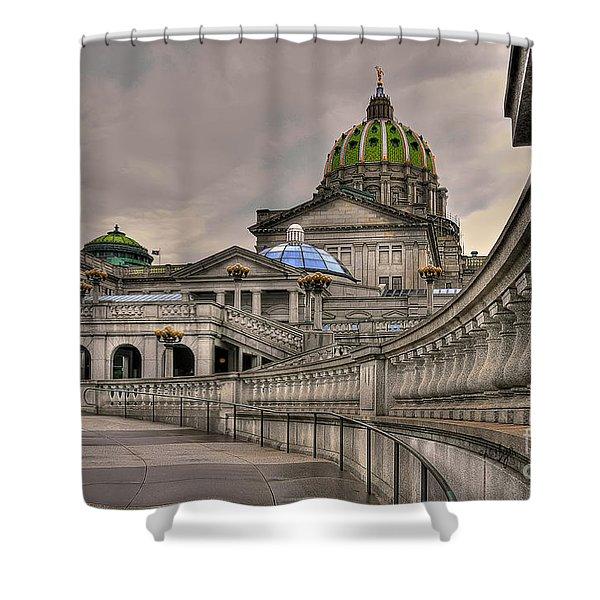 Pennsylvania State Capital Shower Curtain