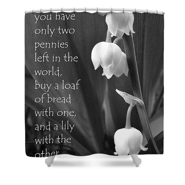 Penny Lily Shower Curtain