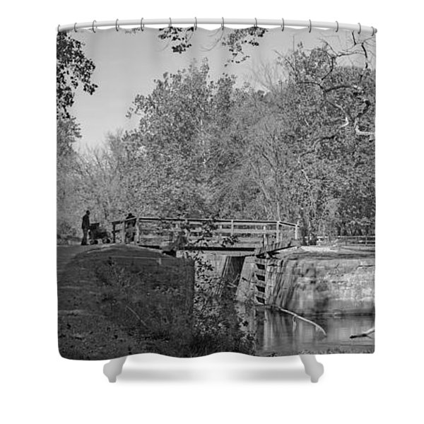 Pennyfield Lock Chesapeake And Ohio Canal Shower Curtain