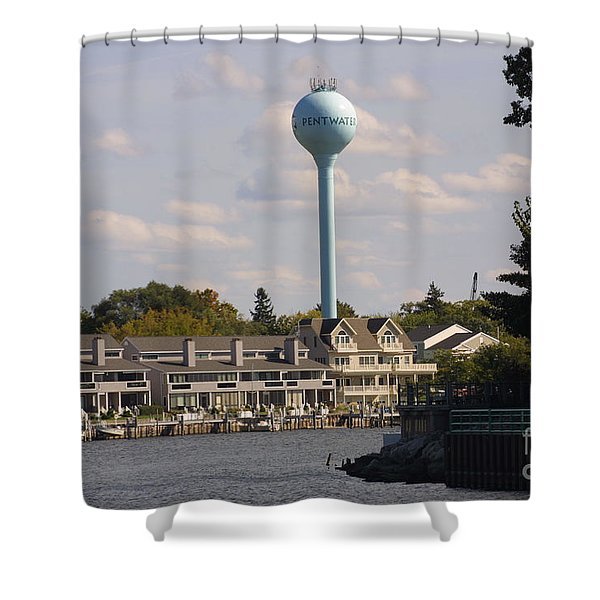 Pentwater Shower Curtain