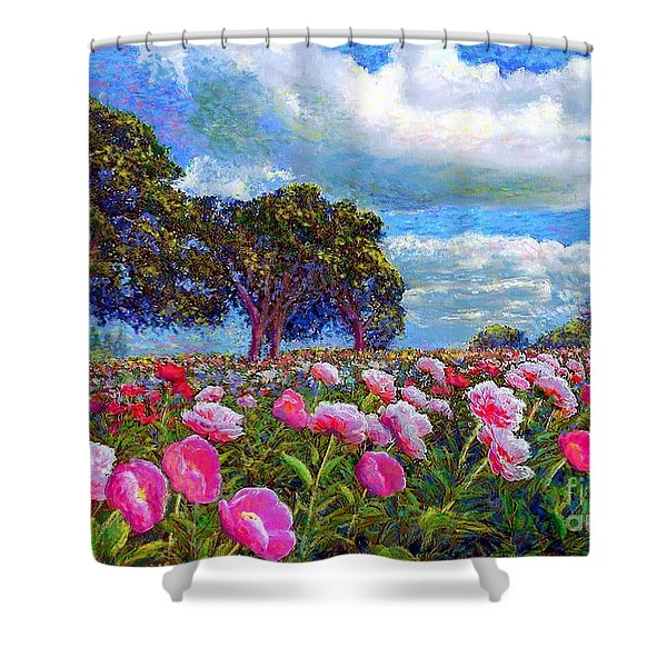 Peony Heaven Shower Curtain