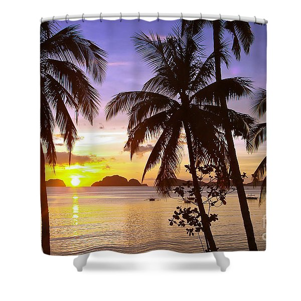 Perfect Evening Shower Curtain