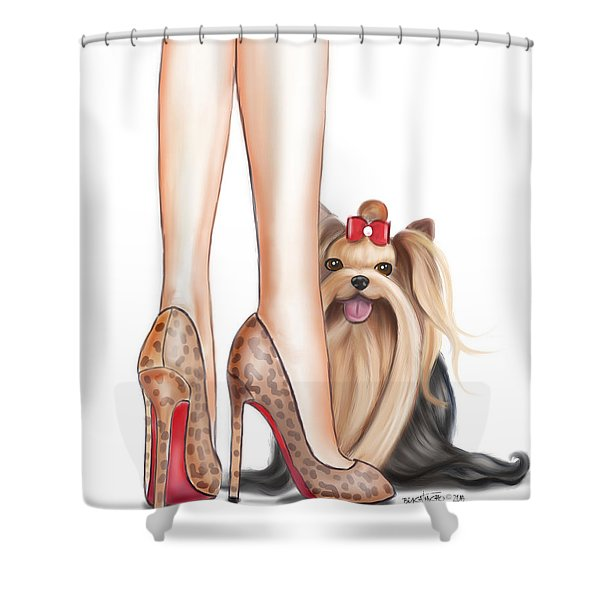 Perfect Match Shower Curtain