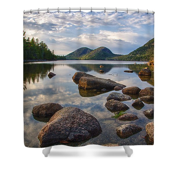 Perfect Pond Shower Curtain