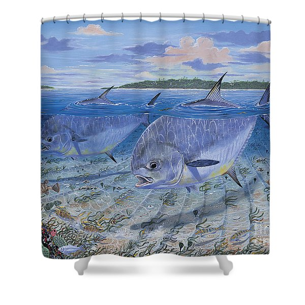 Permit In0016 Shower Curtain