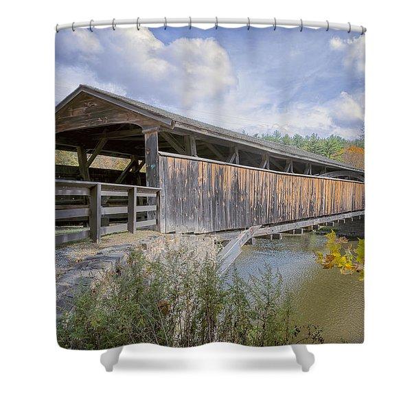Perrine's Covered Bridge Shower Curtain