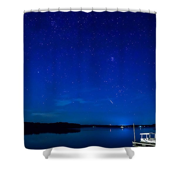 Perseid Meteor Shower Curtain