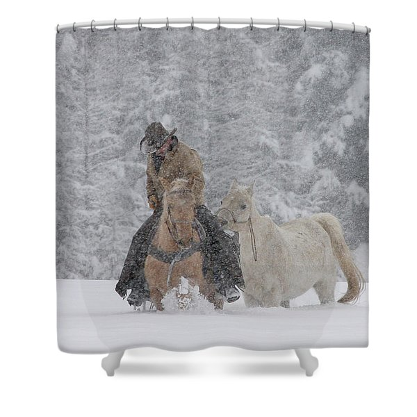 Persevere Through All Shower Curtain