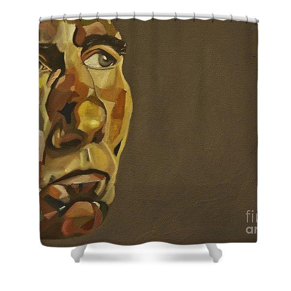 Pete Postlethwaite Shower Curtain