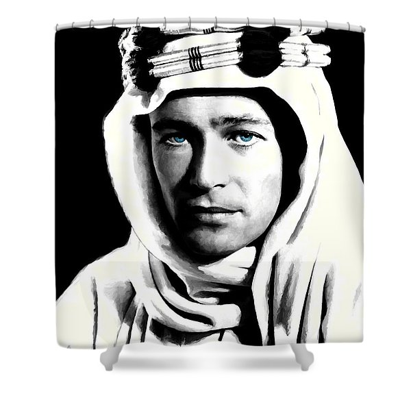 Peter O'toole Portrait Shower Curtain