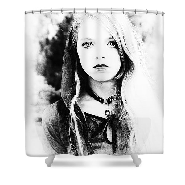 Petite Seer Shower Curtain