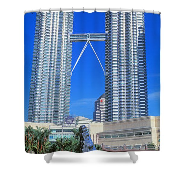 Petronas Towers Kuala Lumpur Malaysia Shower Curtain