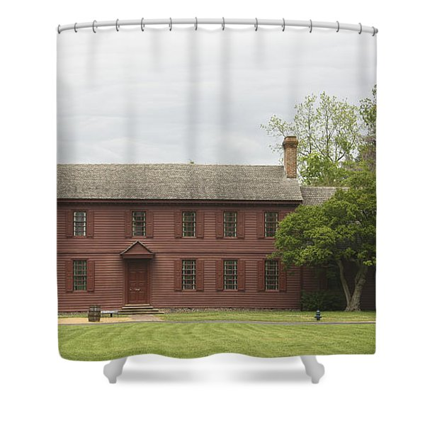 Peyton Randolph House Shower Curtain