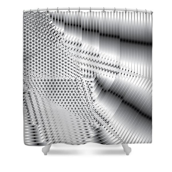 Phalanx 30 Shatter Shower Curtain