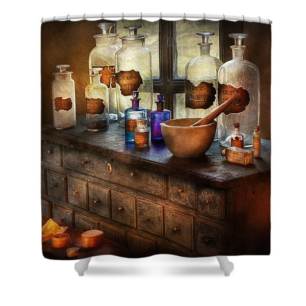 Pharmacist - Medicinal Equipment  Shower Curtain
