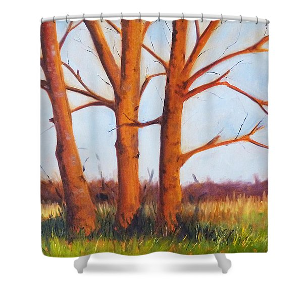 Pheasant Season Shower Curtain