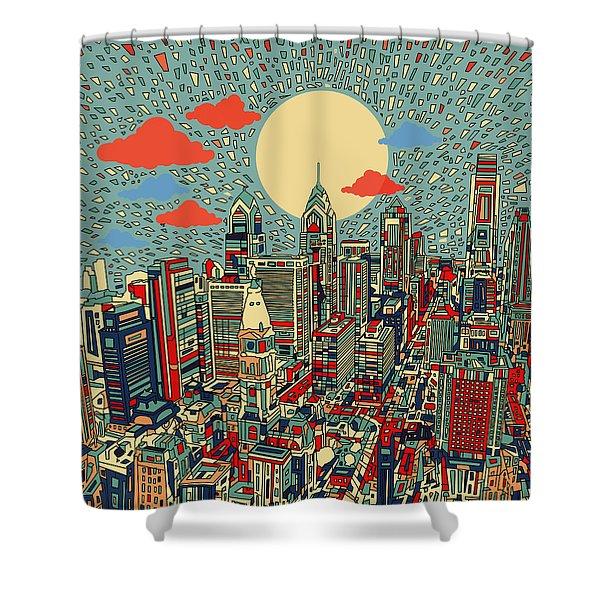 Philadelphia Dream 2 Shower Curtain