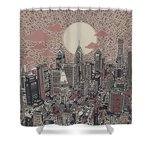 Philadelphia Dream 3 Shower Curtain