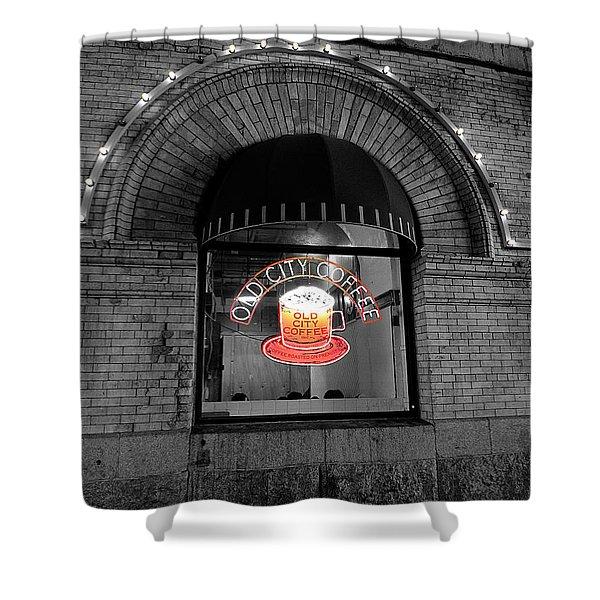Philadelphia -old City Coffee Shower Curtain